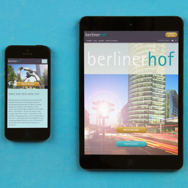 Screenshot Hotel Berliner Hof