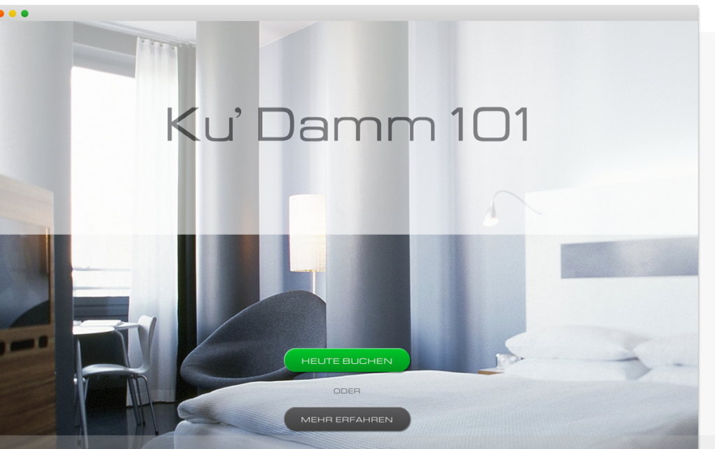 Screenshot Hotel Ku'Damm 101