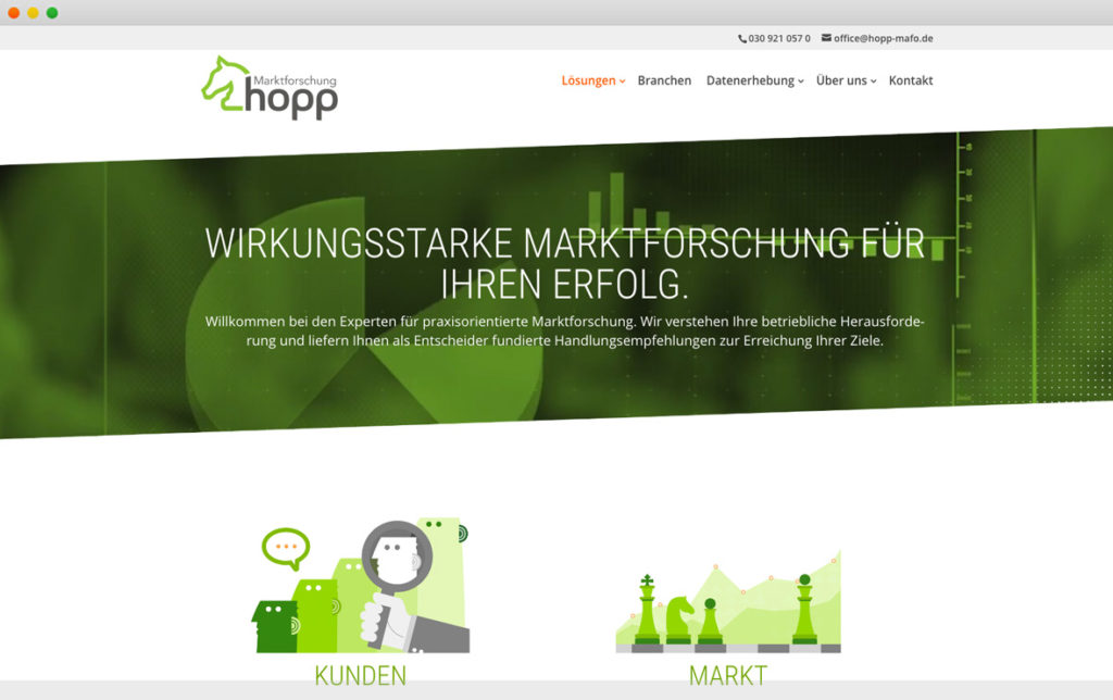 Screenshot Hopp Marktforschung